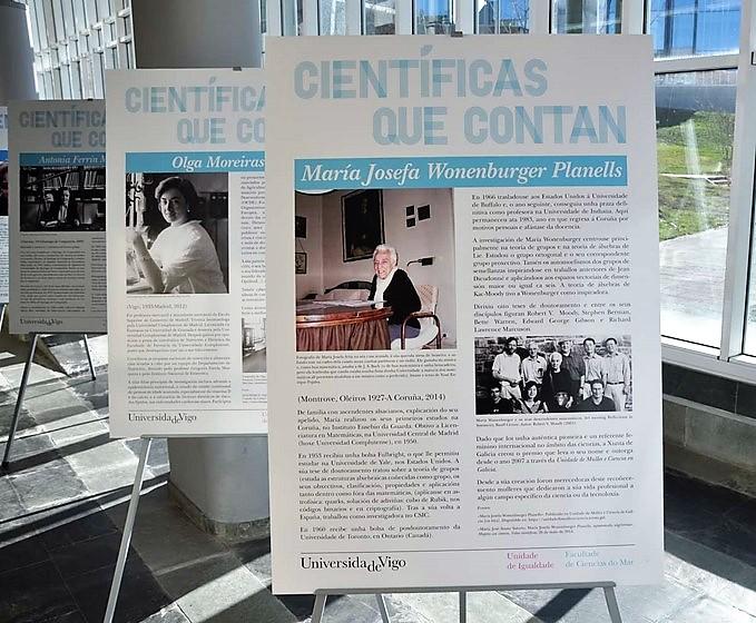unha-exposicion-permanente-na-facultade-do-mar-recupera-e-pon-valor-traballo-investigadoras-galegas
