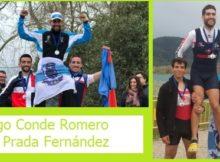 Dúas medallas para o Club Remo do Miño-Seta no Open de España