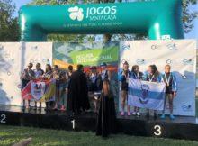"""Dúas medallas de ouro e unha de bronce para o Club Remo do MIño Tui-Seta na Regata XXXVII Internacional de Coimbra""""Queima dás Fitas""""."""