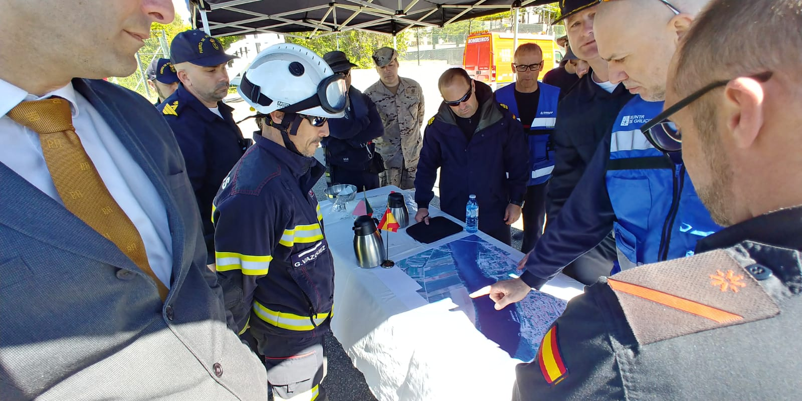 o-consorcio-provincial-contra-incendios-participa-nun-simulacro-no-tramo-internacional-do-mino
