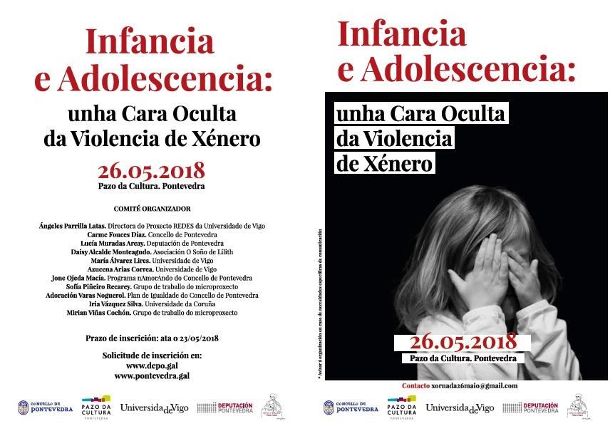 """O Pazo da Cultura de Pontevedra acollerá o día 26 a xornada """"Infancia e adolescencia: Unha cara oculta da violencia de xénero"""""""