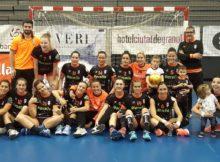 O Atlético Guardés, primeiro club galego que logrou o título de Liga na máxima categoría do balonmán feminino español, recibirá o premio ao mellor equipo