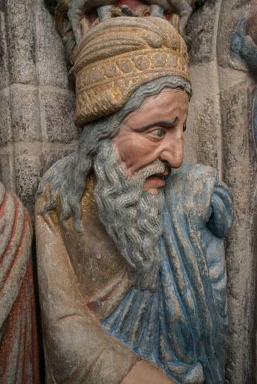 Fundación Barrié e a Fundación Catedral de Santiago presentan o Pórtico da Gloria tras a sús restauración