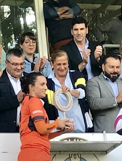 Matamá convértese no terceiro equipo vigués en conquistar a CopaDeputación