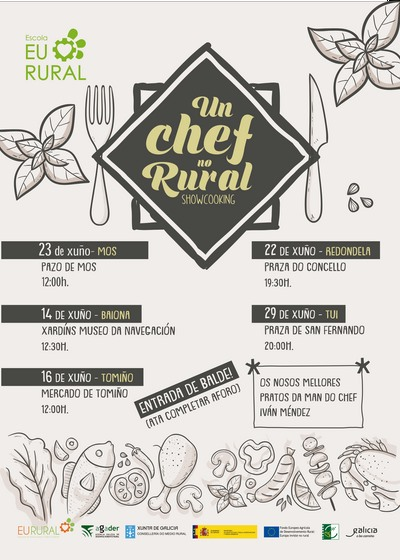 Baiona, primeira parada de 'Un chef no rural'