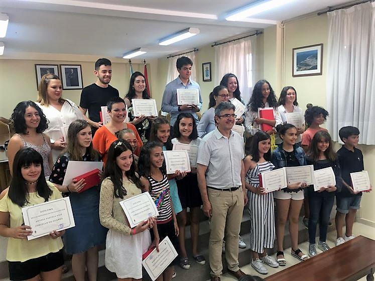 A Guarda entrega os Premios de Educación 2018