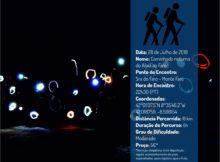 Unha andaina nocturna unirá este sábado os dous principais cumios da Eurocidade Tui-Valença