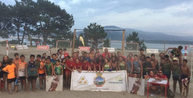 67 equipos participaron no Campionato de Balonmán-Praia na Guarda