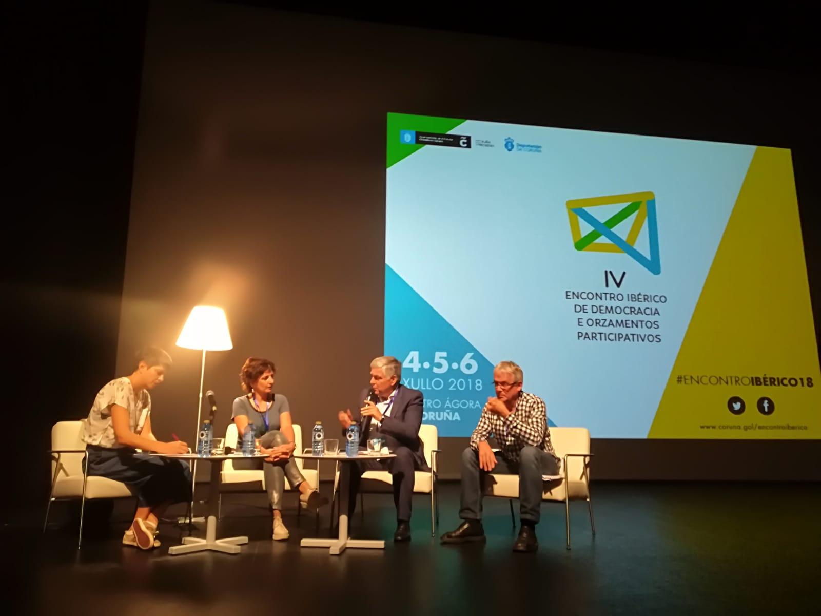 experiencia transfronteiriza de Tomiño e Cerveira no IV Encontro Ibérico de Democracia e Orzamentos Participativos