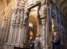Turismo de Galicia colabora coa Catedral de Santiago na ordenación das visitas ao Pórtico da Gloria