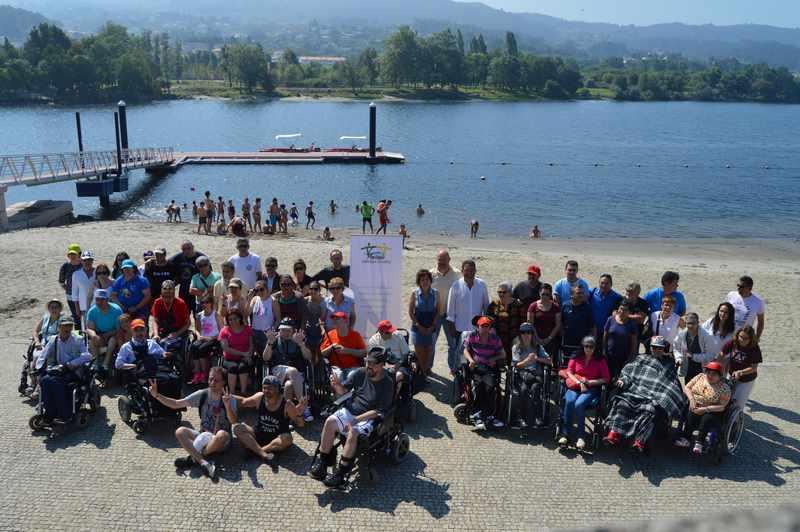 Asociación de persoas con discapacidade Vontade de Tomiño organiza, durante o mes de xullo, actividades de turismo e deporte inclusivo