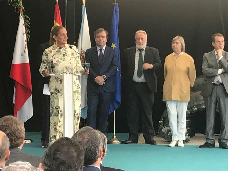 Silva subliña que 'Sea Fest' transmite ao mundo que Vigo é a capital da pesca e da gastronomía