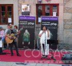 """A música de Uxía reivindica na Guarda a loita pola igualdade dentro da acción """"Violencia Zero"""" da Deputación de Pontevedra"""