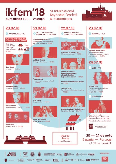 Festival IKFEM 2018: unha vintena de propostas musicais e de lecer baixo o lema Women Sound