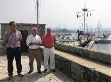Baiona repite como municipio líder en recepción de embarcacións en tránsito durante o primeiro semestre do ano