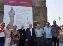 Unha imaxe do Sagrado Corazón na ermida da Guía converterase no novo símbolo de Vigo