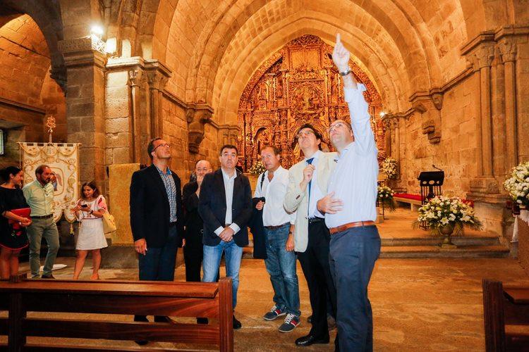 Cultura investirá máis de 500.000 na restauración da igrexa e ex colexiata de Santa María de Baiona