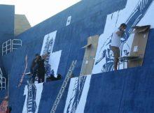 O novo deseño que lucirá o espigón do Porto da Guarda vai collendo forma