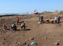 Comezaron os traballos de escavación arqueolóxica do proxecto 'A Guarda, Mar de Sal'