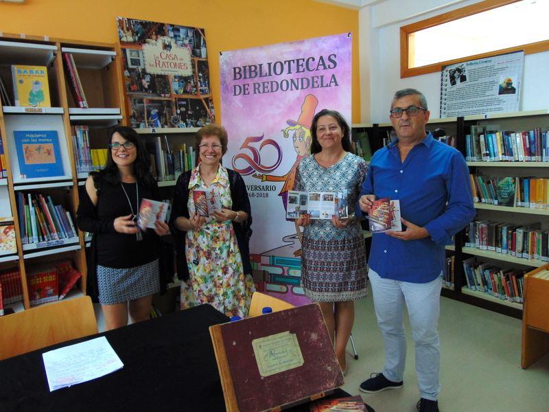 As Bibliotecas Municipais de Redondela celebran o seu 50 aniversario