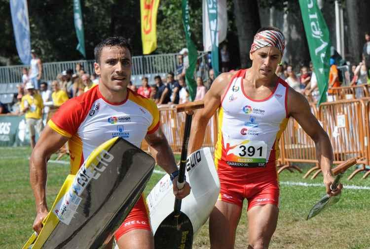 Ouro e prata para o piragüismo galego no Mundial de Maratón
