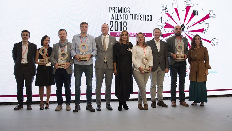 entrega esta tarde dos I Premios Talento Turístico da provincia de Pontevedra