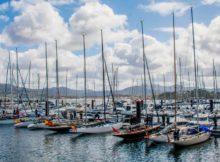 O MRCY de Baiona convértese en porto de partida do Camiño de Santiago por mar