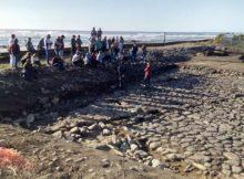 Rematan os traballos de escavación das Salinas romanas da Guarda