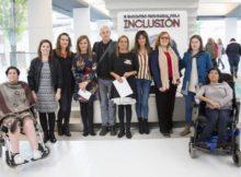 Silva comprométese a visibilizar as mulleres con diversidade funcional en todos os actos de igualdade da Deputación de Pontevedra