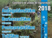 O V Open de Andainas 25 Kms rematará o 11 de novembro en Tui