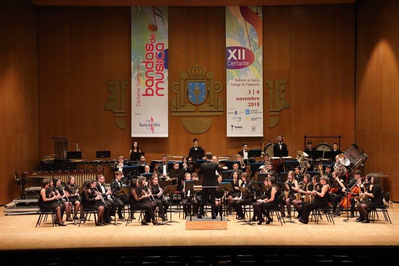 Agrupación Musical de Goián consegue dous premios no XII Certame Galego de Bandas de Música