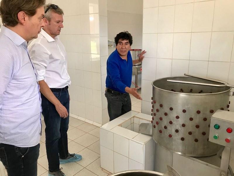 A Xunta visita proxectos de desenvolvemento postos en marcha grazas á cooperación galega en Perú