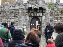 As visitas teatralizadas ao Castelo de Soutomaior volven a arrasar este outono