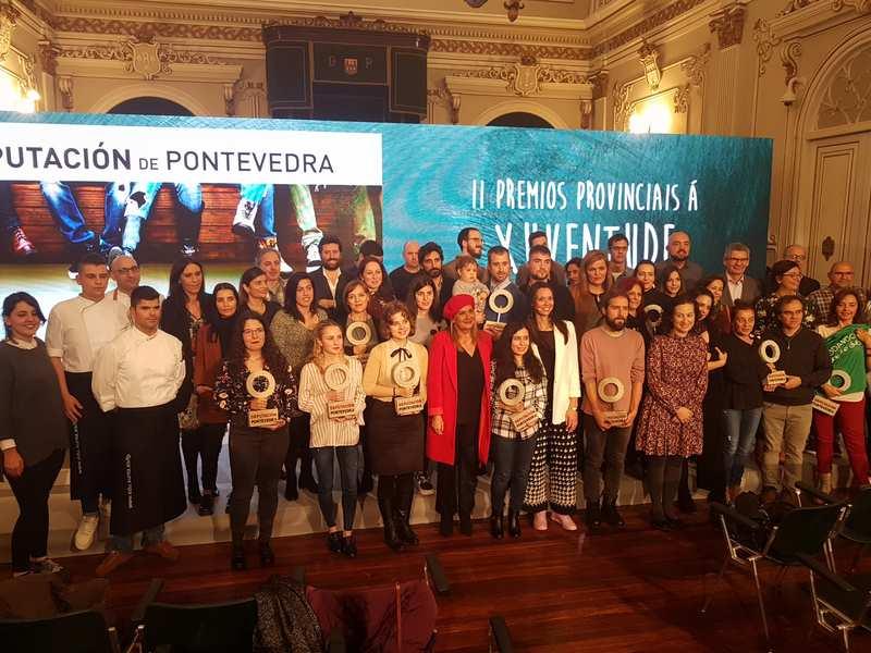 Gala dos II Premios á Xuventude da Deputación de Pontevedra