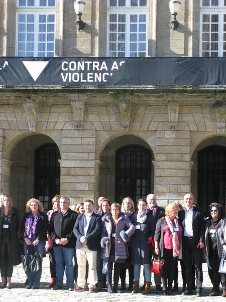 """O Concello de Nigrán anima aos establecementos e entidades a participar na campaña """"En negro contra as violencias machistas"""""""