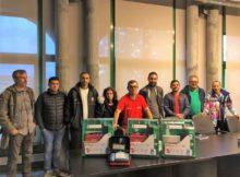 Ás instalacións deportivas de Nigrán xa contan con desfibriladores