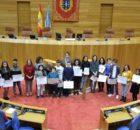 Mozas de Tomiño reclaman en Santiago a creación dun consello autonómico de participación infantil e adolescente