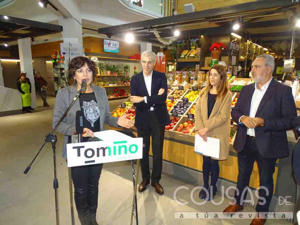 A praza de abastos de Tomiño convértese na primeira en contar co selo de mercado excelente que outorga a Xunta