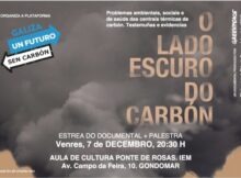Proxección do documental 'O lado escuro do carbón, as voces silenciadas' en Gondomar
