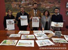 A Eurocidade Tui-Valença presenta o seu primeiro almanaque