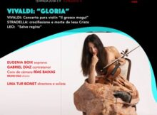 Lina Tur Bonet, exercerá como solista e directora no cuarto concerto que organiza a Orquestra Barroca VIGO 430