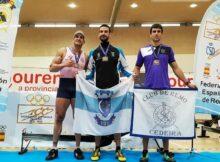 Óscar Alonso e Suso González campeones de España de remoergómetro