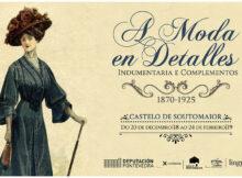 A moda na época de María Vinyals nunha exposición no Castelo de Soutomaior