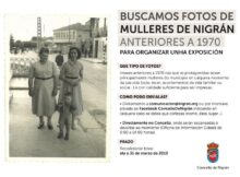 O Concello de Nigrán quere facer unha exposición con fotos antigas nas que a muller sexa a protagonista