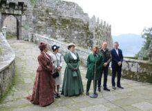 Comezan as visitas caracterizadas ao Castelo de Soutomaior con todas as prazas esgotadas