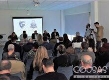 O Gondomar CF presenta novo escudo e imaxe corporativa
