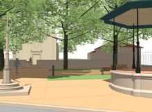 Tomiño creará un espazo público arredor da igrexa de Amorín, con zonas de paseo e xogo