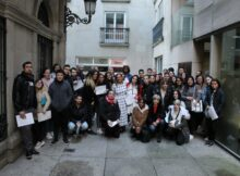 Os participantes no programa 'DepoIntegra Xoven' da comarca de Vigo recibiron os seus diplomas