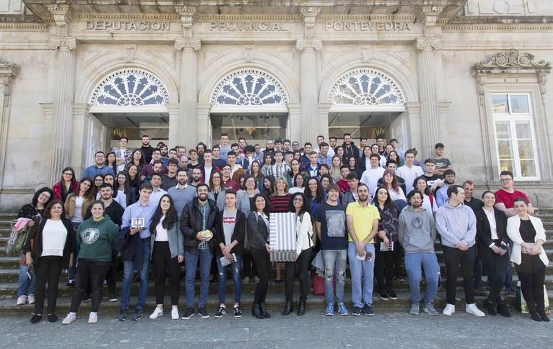 O Pazo da Deputación Provincial acolle a entrega de premios ao alumnado participante no programa Depoemprende na FP