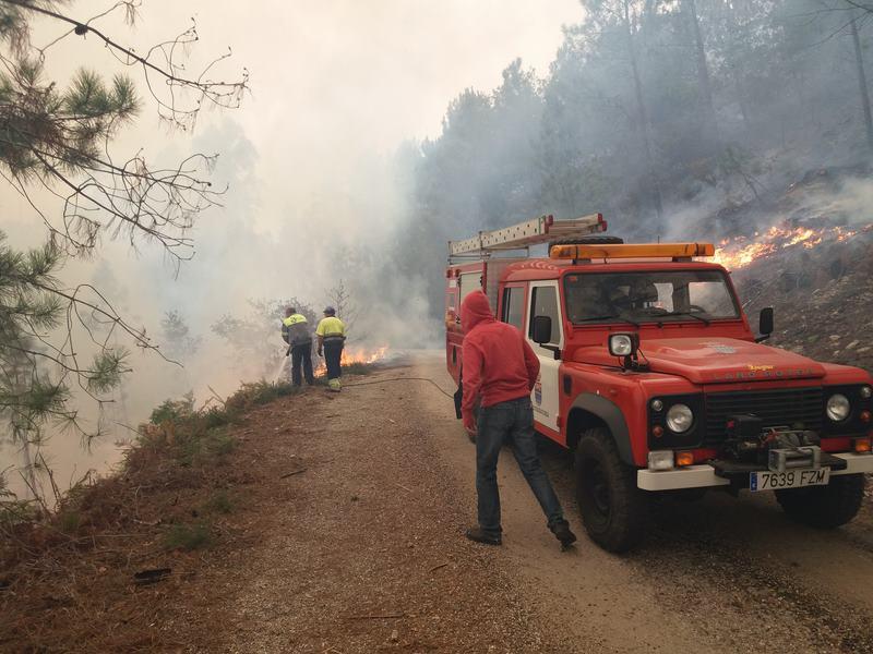 Picoña (Salceda de Caselas) reforestará os seus montes queimados con 600 árbores autóctonas